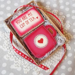 You Are My Cup of Tea Biscuit Gift Box  (Personalisation Available)