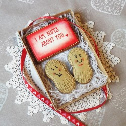 I Am Nuts About You Cookie Gift Box (Personalisation Available)