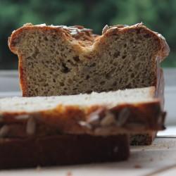 Organic Artisan Gluten-free Bread - Sunflower seed