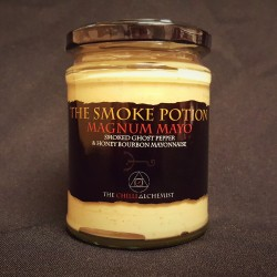 The Smoke Potion: Magnum Mayo - Smoked Ghost Pepper Mayonnaise