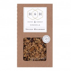 Spiced Mulberry Granola