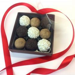 Valentine's Handmade Fudge Selection