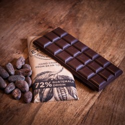 3 Vegan Guatemalan Dark Chocolate Bars