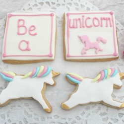 Be a Unicorn Cookie gift set