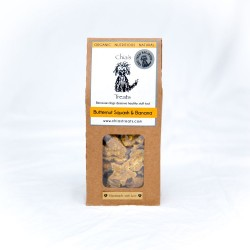 Organic Healthy Dog Treats - Butternut Squash & Banana