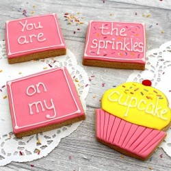 You are the Sprinkles on My Cupcake Cookie Gift