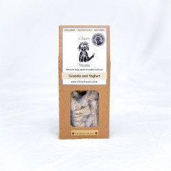 Organic Healthy Dog Treats - Granola & Yoghurt