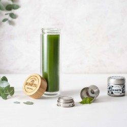 Cold Brew Matcha Bottle Gift Set including Organic Matcha Green Tea