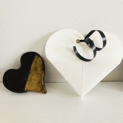 Chocolate Heart Wedding Favour (Dairy Free, Gluten Free)