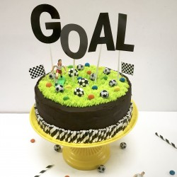 The Football Cake Kit