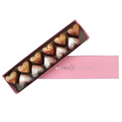 Chocolate Hearts - Strawberry & Champagne / Passionfruit & Prosecco