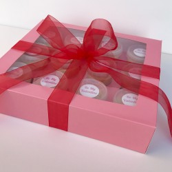 Valentine's Day Edible Cookie Dough Gift Box