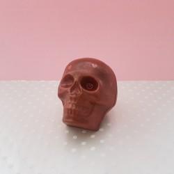 Love Heart Shimmer Chocolate Skull