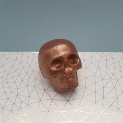 Decorative Chocolate Skull