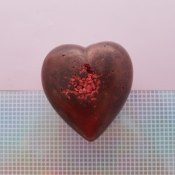 Exposed Raspberry Chocolate Heart