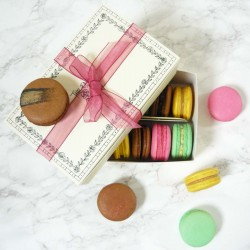 Vegan Macaron Selection Box of 12