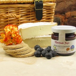 Wigmore Ewe's Milk Brie Box with tasting notes