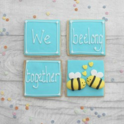 We Beelong Together Valentine's Cookie Gift