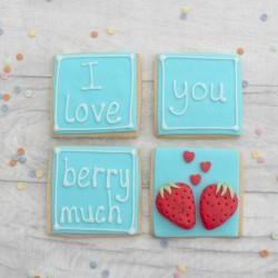 I Love You Berry Much Valentine's/ Anniversary Cookie gift