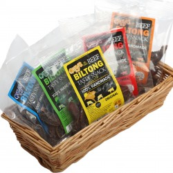 Greeffs Five Flavours of Biltong (Taster Pack)