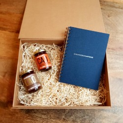 Natural Chocolate Spread Hamper & 'Scrumdiddlyumptious' Journal