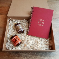 Natural Chocolate Spread Hamper & 'Yum, Yum, Yum' Journal