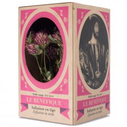 Le Benefique Herbal Tea - Organic Red Clover 16 stems