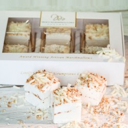 Roasted Coconut & White Chocolate Marshmallows Gift Box