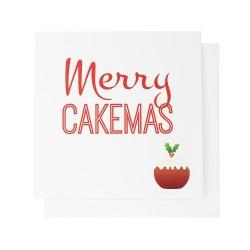 Merry Cakemas Christmas Card