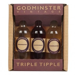 Triple Tipple (Elderflower, Blackcurrant and Horseradish Vodka Spirit Gift Pack)