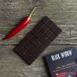 Black Widow Chilli Chocolate Bar