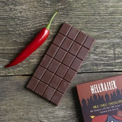 Hellraiser Ghost Chilli Milk Chocolate Bar