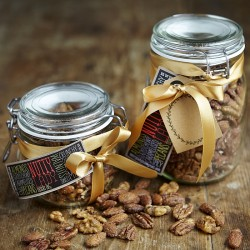 Sweet & Spicy Mixed Nuts Jar
