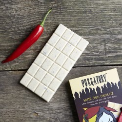 Purgatory Chilli White Chocolate Bar