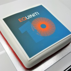 Whole Cake With Personalised Logo