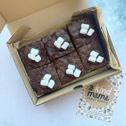 Chocolate S'mores Vegan Brownies