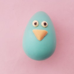 Birdy Egg Head Chocolate Easter Character