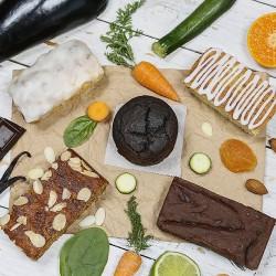 Gluten Free Vegetable Cake Box