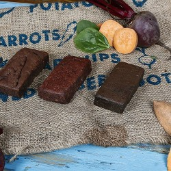 Chocolate Brownies Selection Box (made with vegetables)