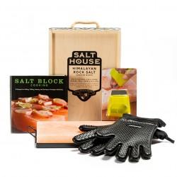 Himalayan Salt Cooking Block Deluxe Kit