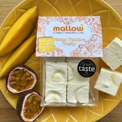"""Mango Passion Fruity"" gourmet marshmallows"