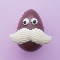 Mr Egg Head Chocolate Easter Character