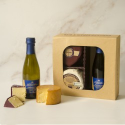 Prosecco & Cheese Gift Set - Heart