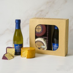 Prosecco & Cheese Gift Set - Round