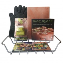 Himalayan Salt Cooking Block Deluxe Kit