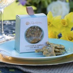 Pumpkin & Sunflower Seed Brittle and Peanut Brittle (vegan) - 2 Packs