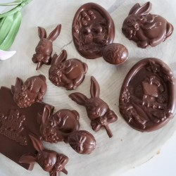 Easter Vegan Chocolates and Caramel Easter Card (Soya & Gluten Free)