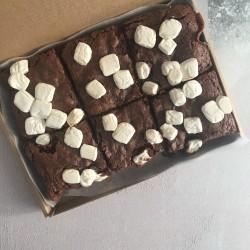 Chocolate S'mores Vegan Brownies