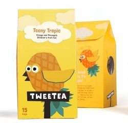 Teeny Tropic - Orange & Pineapple Children's Fruit Tea (4 Pack)