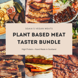 Plant based meat Taster Box (Vegan Steaks, Bacon, Burgers, Charcuterie)